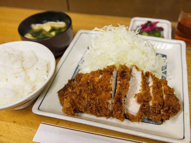 かつ膳『ロースカツ定食』(980円)