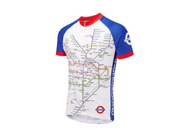 Foska London Underground Cycling Jersey