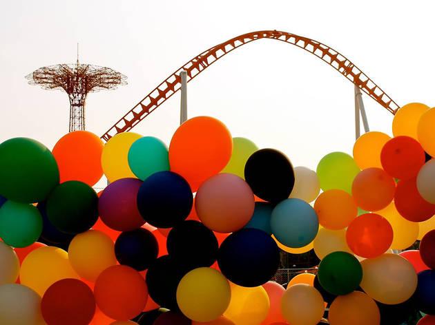 """Untitled"" (Balloons), Coney Island, 2015"