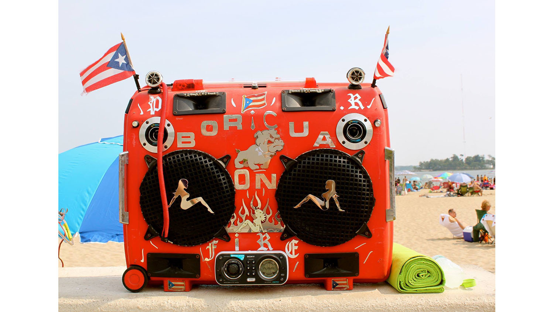 """Boricua on Fire"" Orchard Beach, 2015"