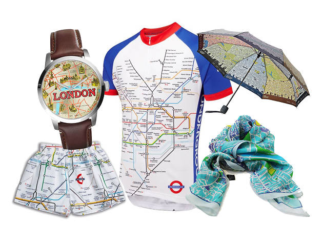 Subway Map Boxer Shorts.11 Maps Of London You Can Actually Wear