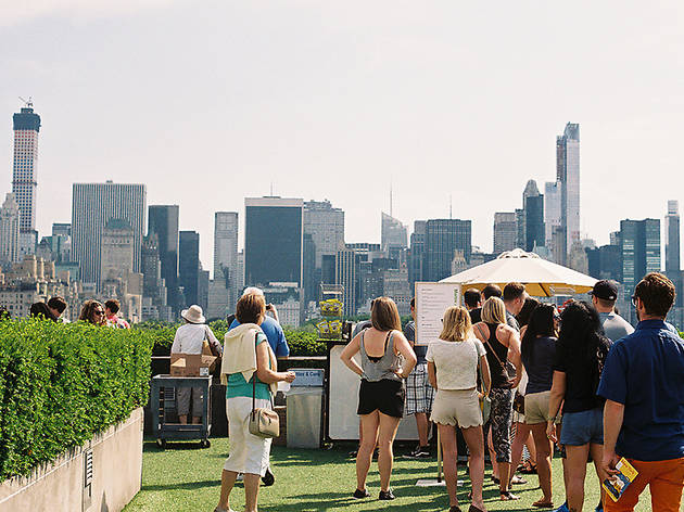 The Metropolitan Museum of Art Roof Garden Café and Martini Bar