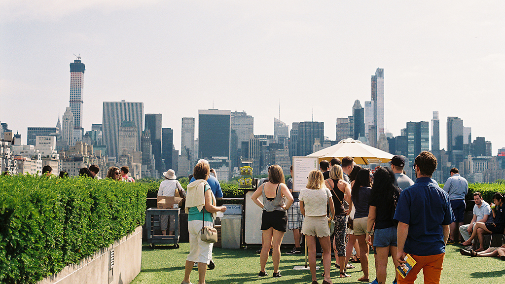 The Metropolitan Museum Of Art Roof Garden