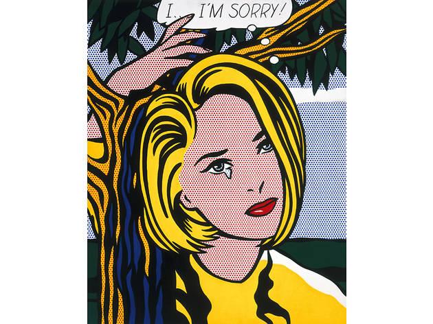 """Roy Lichtenstein, """"I...I'm Sorry!"""""""