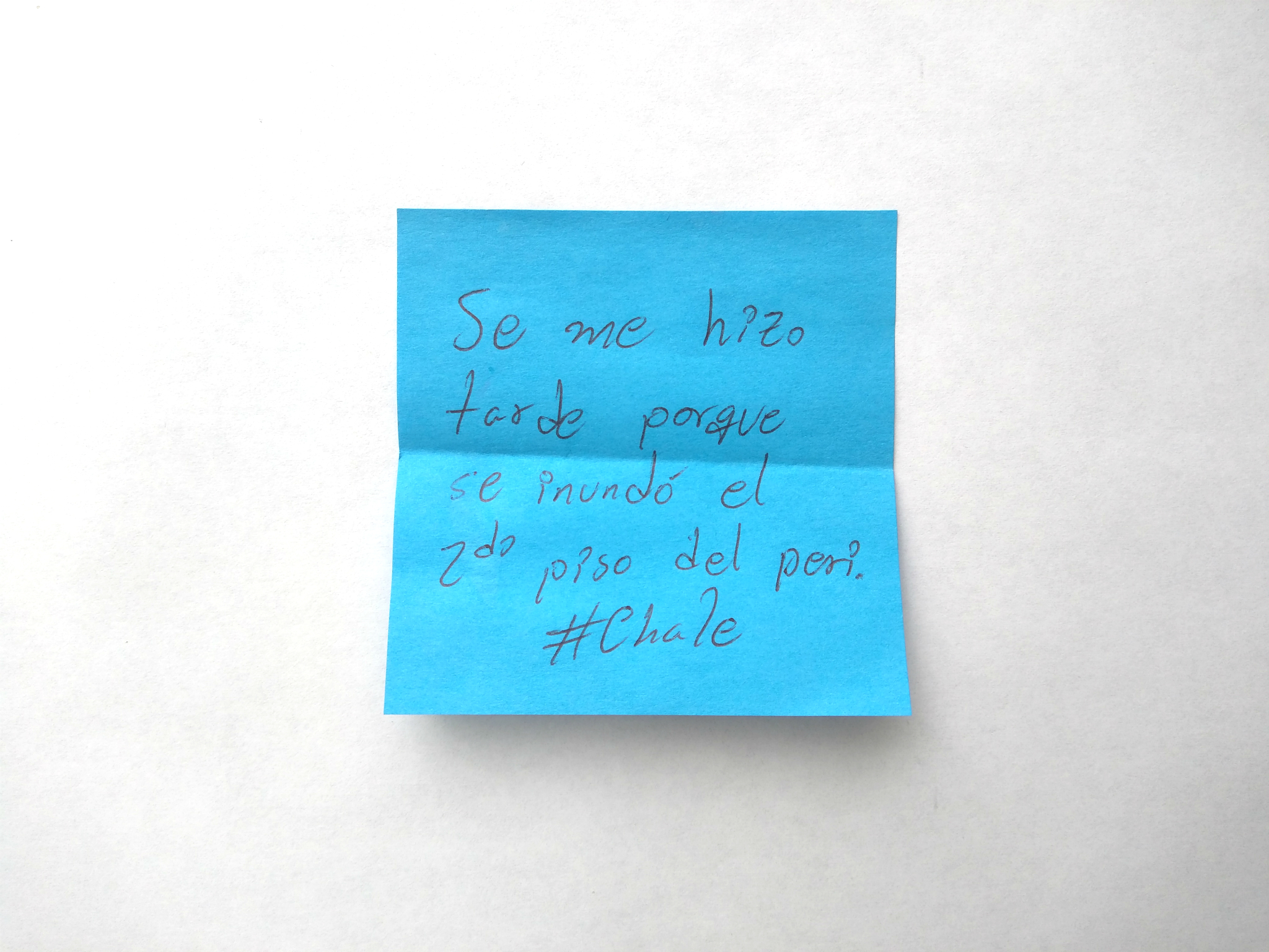 Confesiones de post-it Pretextos defeños