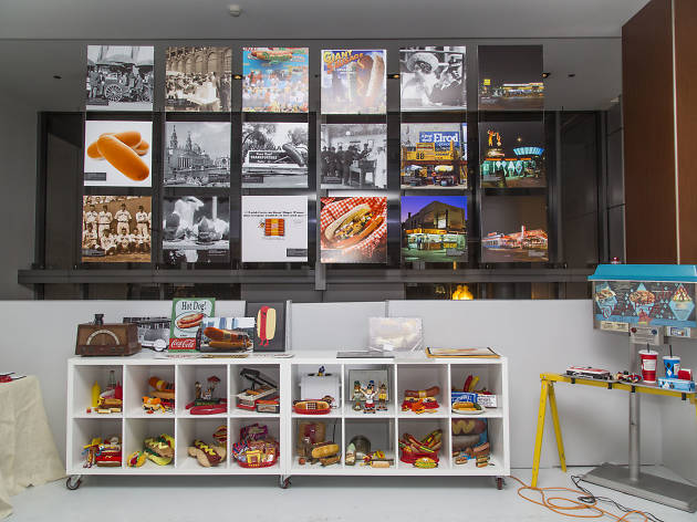 Plenty of Hot Doug and Superdawg love at the Foodseum's new pop-up exhibit