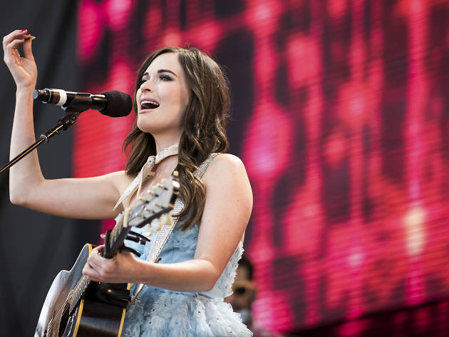 Kacey Musgraves performed at the FirstMerit Bank Pavilion at Northerly Island during Farm Aid 30, September 19, 2015.