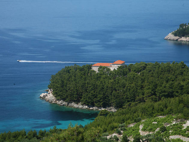 The Pelješac peninsula