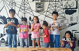 Nizam Sculpture Studio kids' metalsmithing class