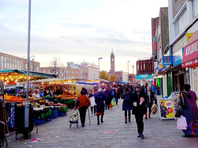 Lewisham High Street market
