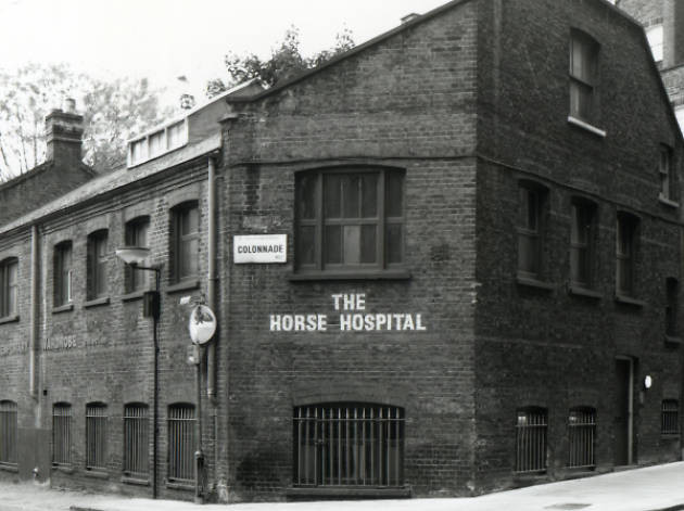 Horse Hospital, arts venue, Russell Sq