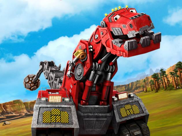 Dinotrux es una serie para niños