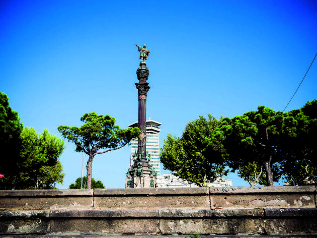 Estàtua de Colom a Barcelona