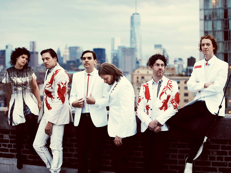 Arcade Fire on teashops, London and 'The Reflektor Tapes'