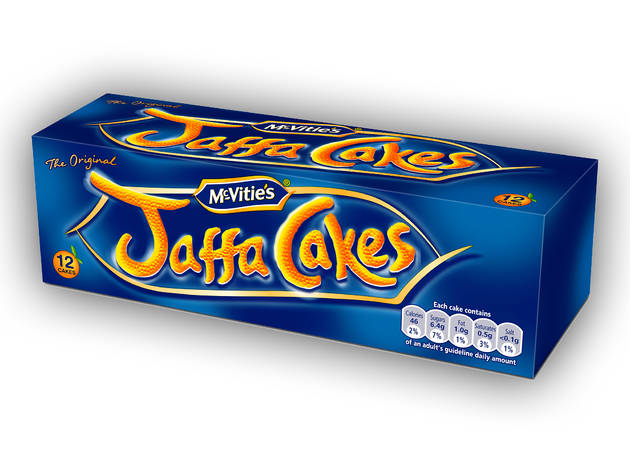 best biscuits, jaffa cakes