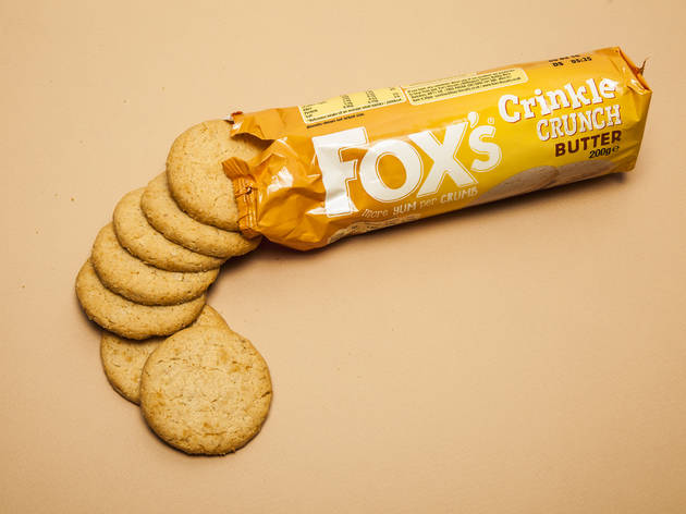 best biscuits, Fox's crinkle crunch
