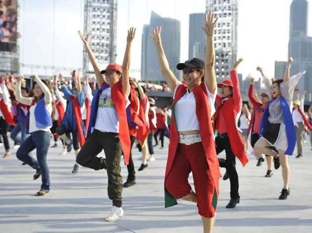 Line dance for health