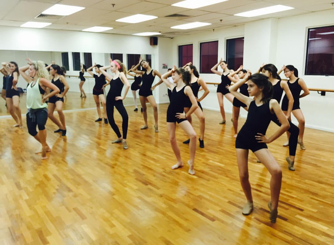 Jazz dance workshop
