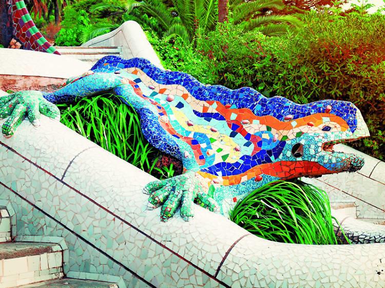 El drac del Park Güell