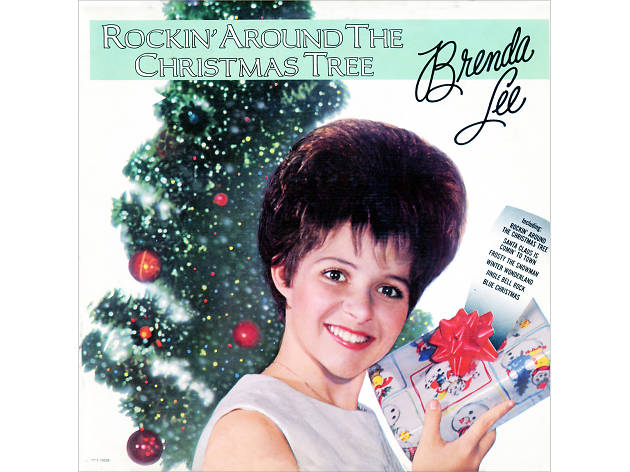 Brenda Lee 'Rockin' Around the Christmas Tree' cover art