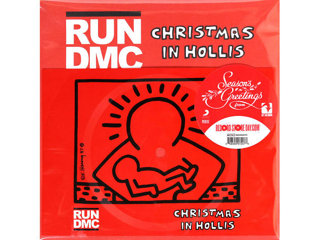 Run-DMC – 'Christmas in Hollis' cover art