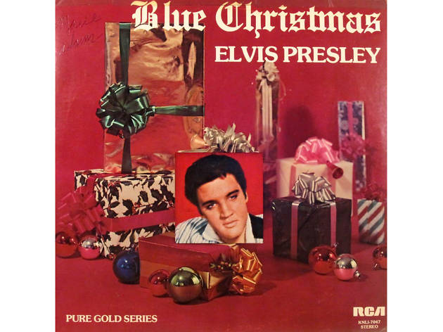 Elvis Presley – 'Blue Christmas' cover art