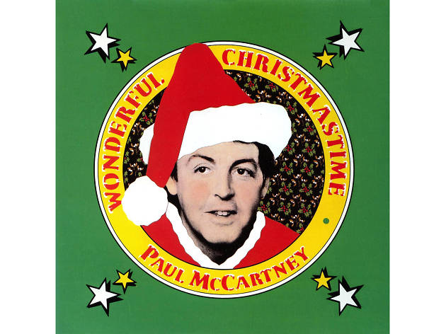 Paul McCartney – 'Wonderful Christmas Time' cover art