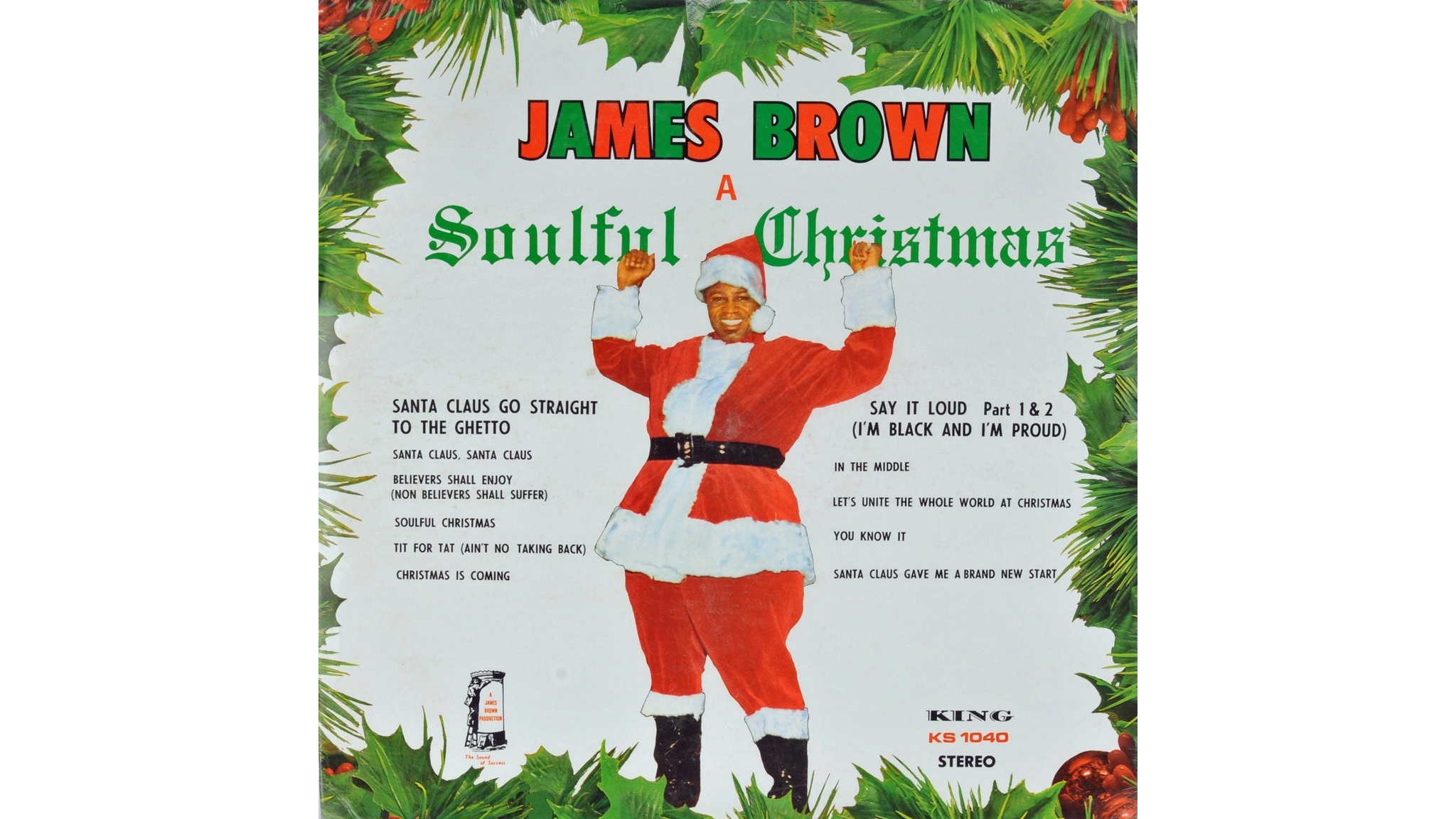 'Santa Claus Go Straight to the Ghetto' – James Brown
