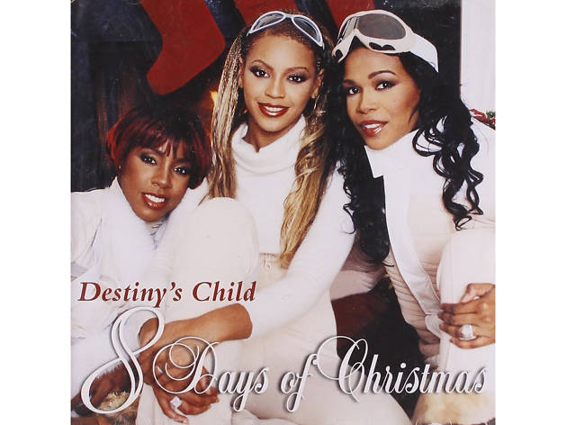 Destiny's Child – '8 Days of Christmas' cover art