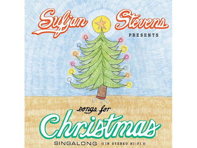 Sufjan Stevens – 'O Come, O Come, Emmanuel' cover art