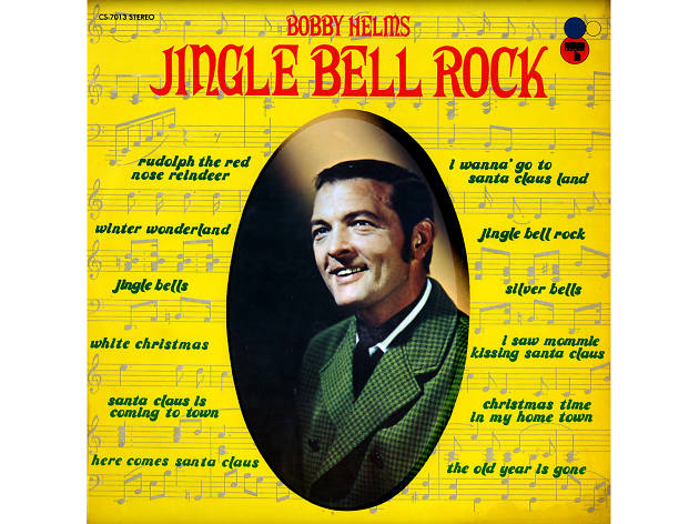 Bobby Helms – 'Jingle Bell Rock' cover artwork