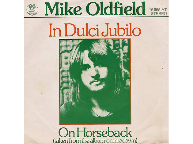 Mike Oldfield – 'In Dulce Jubilo' artwork