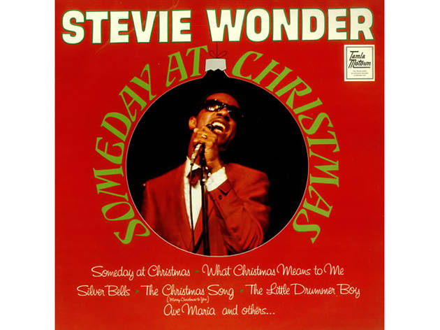 Stevie Wonder – 'What Christmas Means to Me' artwork
