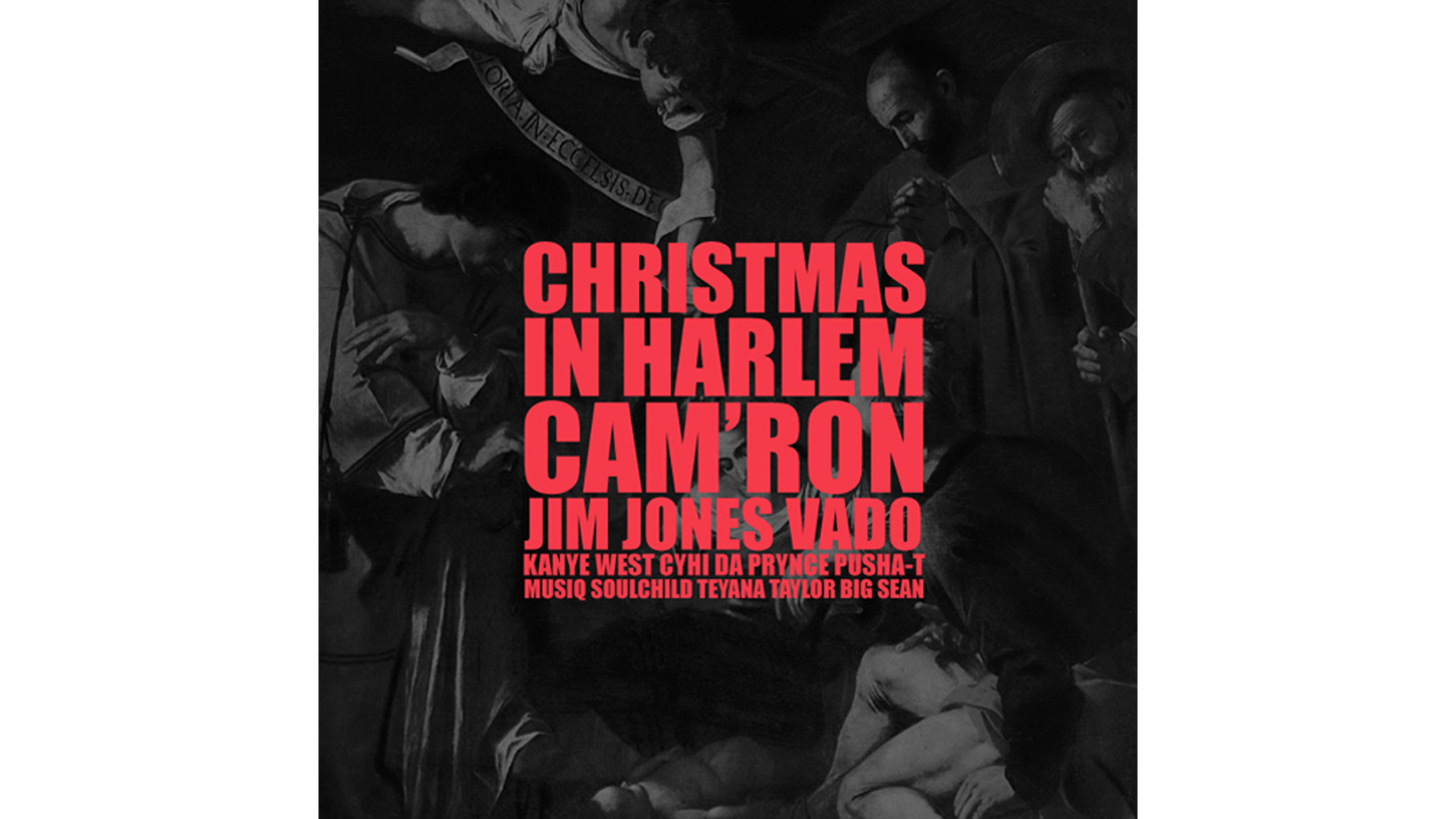 Kanye West – 'Christmas in Harlem' artwork