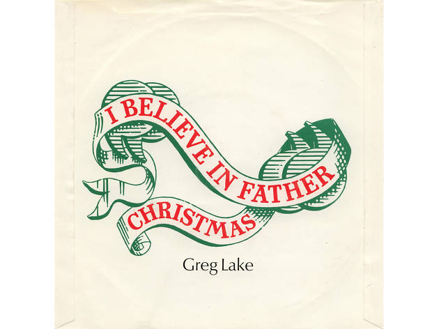 Greg Lake – 'I Believe in Father Christmas' artwork