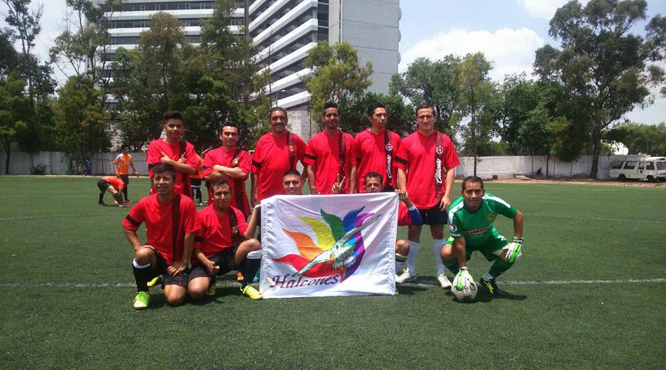 Halcones México, futbol