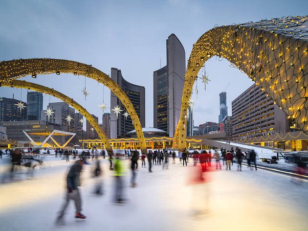 Where to ice skate in Toronto