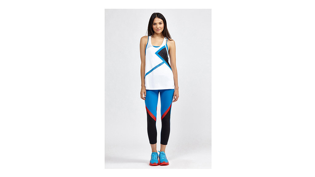 SplitS59 Sabrina Matrix tank, $68, at bandier.com