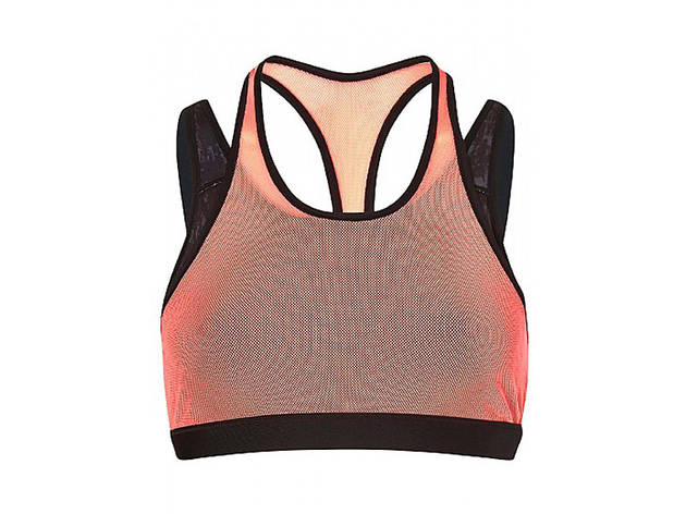 Sweaty Betty Sweat It Out bra, $65, at sweatybetty.com
