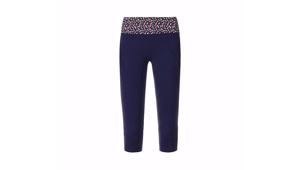 Tory Sport printed cropped surf legging, $175, at torysport.com