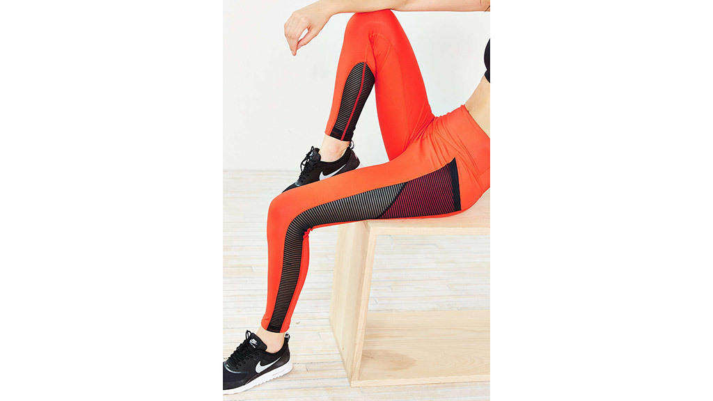 Without Walls striped mesh Etta ankle leggings, $68, at urbanoutfitters.com