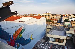 Paisaje de la colonia Doctores en la Ciudad de México