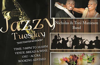 Jazzy Tuesday, Bread and Wine, Osu, Accra