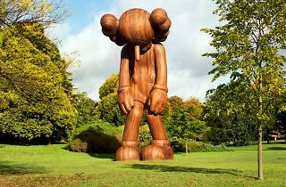 Frieze 2015: Kaws at Frieze Sculpture Park 2014. Photo: Linda Nylind. Courtesy of Linda Nylind/Frieze