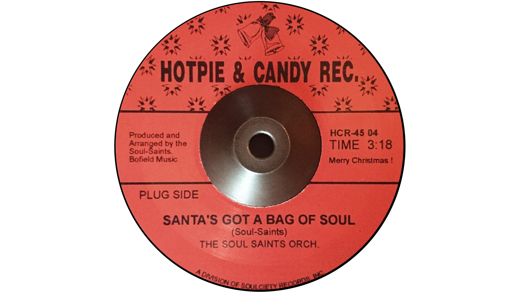 'Santa's Got A Bag Of Soul' – Soul-Saints Orchestra