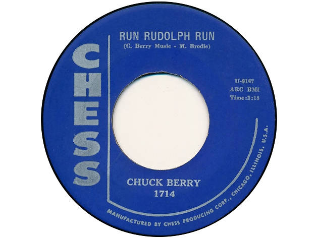 'Run Rudolph Run' – Chuck Berry