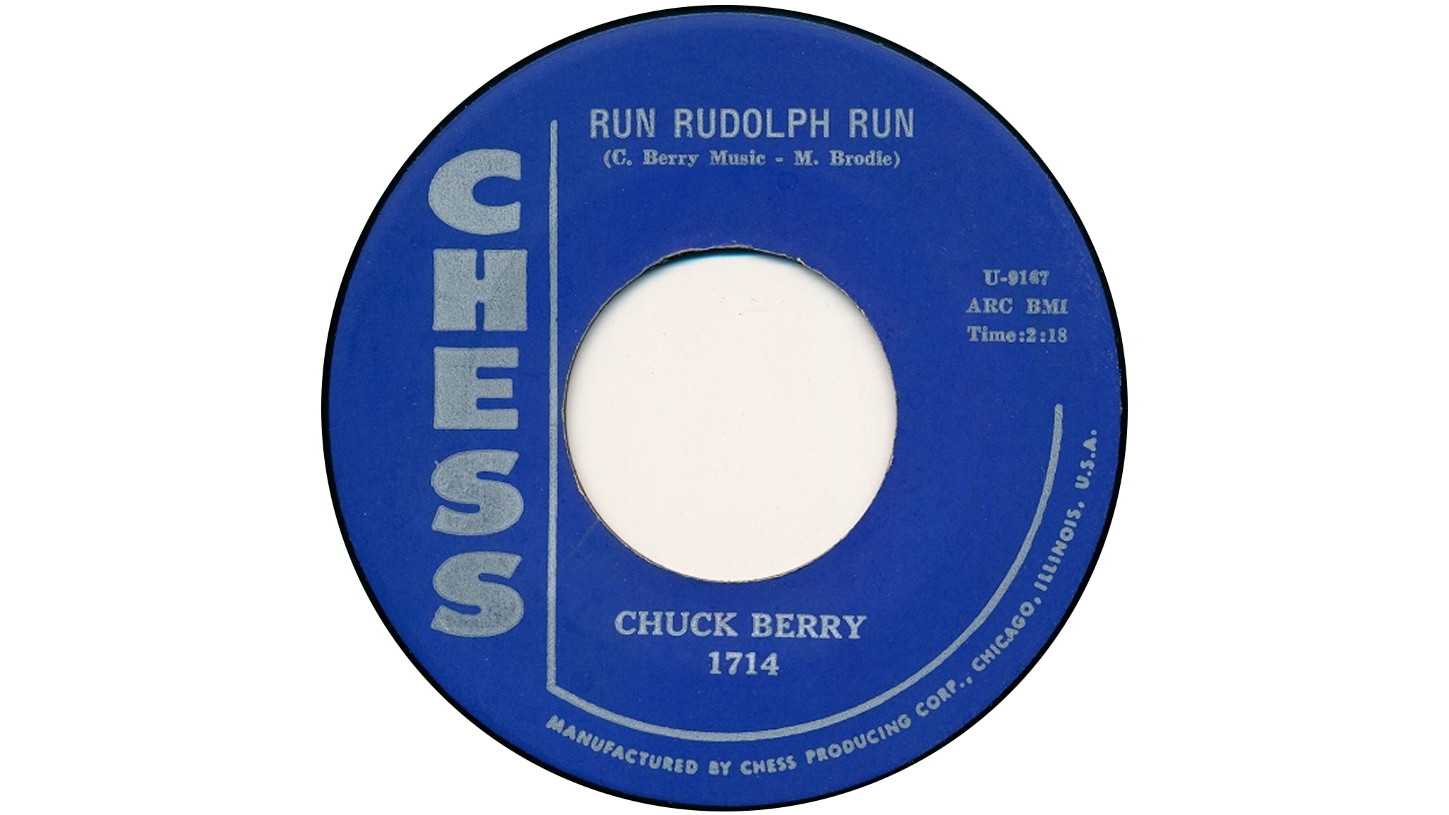 50 best Christmas songs: Chuck Berry – Run Rudolph Run