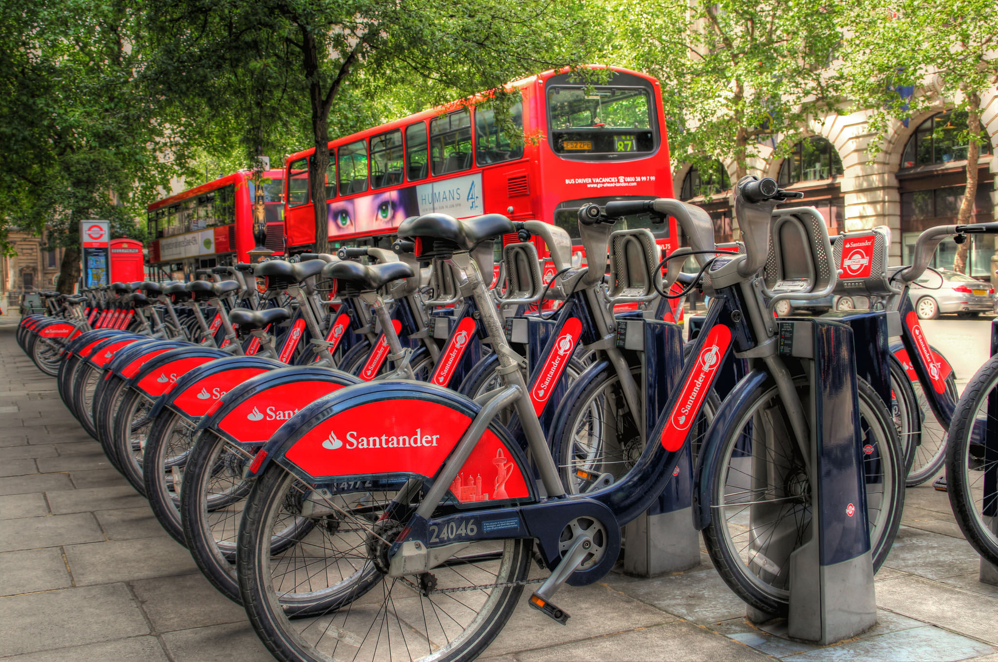 Santander bike hire