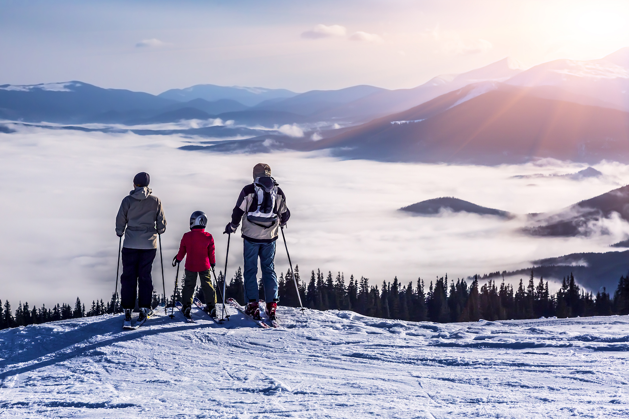 Top tips for family ski trips