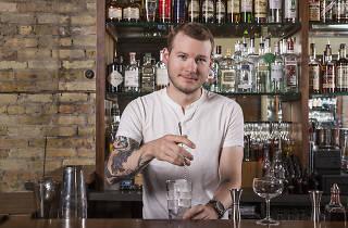 Bartender Luke Andrews